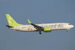 ceskykrumlovさんが、羽田空港で撮影したソラシド エア 737-86Nの航空フォト(写真)