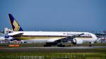 パンダさんが、成田国際空港で撮影したシンガポール航空 777-312/ERの航空フォト(写真)