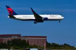パンダさんが、成田国際空港で撮影したデルタ航空 767-3P6/ERの航空フォト(写真)