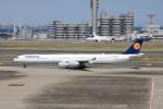 msrwさんが、羽田空港で撮影したルフトハンザドイツ航空 A340-642Xの航空フォト(写真)