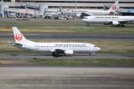 msrwさんが、羽田空港で撮影した日本トランスオーシャン航空 737-446の航空フォト(写真)