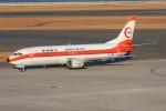 こすけさんが、中部国際空港で撮影した日本トランスオーシャン航空 737-446の航空フォト(写真)