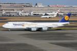 こすけさんが、羽田空港で撮影したルフトハンザドイツ航空 747-830の航空フォト(写真)