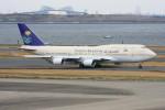 こすけさんが、羽田空港で撮影したサウジアラビア王国政府 747-468の航空フォト(写真)