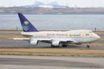 こすけさんが、羽田空港で撮影したサウジアラビア王国政府 747SP-68の航空フォト(写真)
