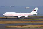 こすけさんが、羽田空港で撮影したドバイ・ロイヤル・エア・ウィング 747-422の航空フォト(写真)