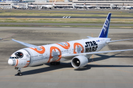 msrwさんが、羽田空港で撮影した全日空 777-381/ERの航空フォト(写真)
