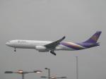 kakukiyoB77Wさんが、香港国際空港で撮影したタイ国際航空 A330-343Xの航空フォト(写真)