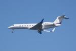 かずまっくすさんが、羽田空港で撮影したAvcon ジェット G500/G550 (G-V)の航空フォト(写真)