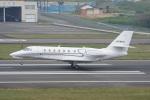 神宮寺ももさんが、高松空港で撮影したノエビア 680 Citation Sovereignの航空フォト(写真)