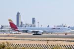 panchiさんが、成田国際空港で撮影したイベリア航空 A340-642Xの航空フォト(写真)