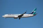 KAZ_YYZさんが、トロント・ピアソン国際空港で撮影したウェストジェット 737-8CTの航空フォト(写真)