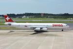 K.787.Nさんが、成田国際空港で撮影したスイスインターナショナルエアラインズ A340-313Xの航空フォト(写真)