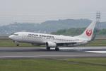 神宮寺ももさんが、高松空港で撮影した日本航空 737-846の航空フォト(写真)