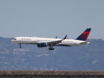 職業旅人さんが、サンフランシスコ国際空港で撮影したデルタ航空 757-2Q8の航空フォト(写真)