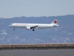 職業旅人さんが、サンフランシスコ国際空港で撮影したエア・カナダ A321-211の航空フォト(写真)