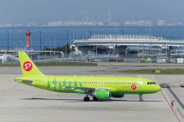 うまぷるさんが、関西国際空港で撮影したS7航空 A320-214の航空フォト(写真)