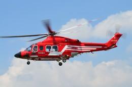 ヘリオスさんが、東京ヘリポートで撮影した東京消防庁航空隊 AW139の航空フォト(写真)