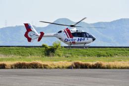 Gambardierさんが、岡南飛行場で撮影した中日本航空 EC135P2+の航空フォト(写真)