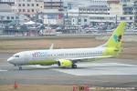 tabi0329さんが、福岡空港で撮影したジンエアー 737-8B5の航空フォト(写真)