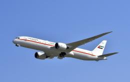 kix-boobyさんが、関西国際空港で撮影したアミリ フライト 787-9の航空フォト(写真)