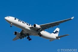 遠森一郎さんが、福岡空港で撮影したフィンエアー A330-302Xの航空フォト(写真)