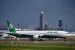 パンダさんが、成田国際空港で撮影したエバー航空 777-35E/ERの航空フォト(写真)
