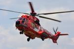 はっくさんが、東京ヘリポートで撮影した東京消防庁航空隊 EC225LP Super Puma Mk2+の航空フォト(写真)