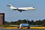 パンダさんが、成田国際空港で撮影したChung Shing Development Co Ltd BD-700-1A10 Global 6000の航空フォト(写真)