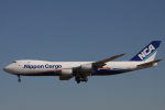 小牛田薫さんが、成田国際空港で撮影した日本貨物航空 747-8KZF/SCDの航空フォト(写真)