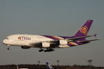 小牛田薫さんが、成田国際空港で撮影したタイ国際航空 A380-841の航空フォト(写真)
