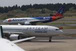 jaraakiさんが、成田国際空港で撮影したエアカラン A330-202の航空フォト(写真)