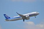 amagoさんが、成田国際空港で撮影した全日空 A320-271Nの航空フォト(写真)