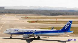 SNAKEさんが、新千歳空港で撮影した全日空 A321-211の航空フォト(写真)