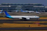 KAZKAZさんが、羽田空港で撮影したガルーダ・インドネシア航空 777-3U3/ERの航空フォト(写真)