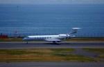 KAZKAZさんが、羽田空港で撮影したChevron USA Inc.  G-V-SP Gulfstream G550の航空フォト(写真)
