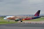 flytaka78さんが、マンチェスター空港で撮影したブリュッセル航空 A320-214の航空フォト(写真)