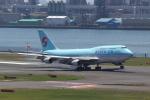 ルビーさんが、羽田空港で撮影した大韓航空 747-4B5の航空フォト(写真)