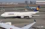 RINA-200さんが、羽田空港で撮影したルフトハンザドイツ航空 747-830の航空フォト(写真)
