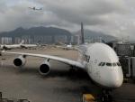 H@tyさんが、香港国際空港で撮影したルフトハンザドイツ航空 A380-841の航空フォト(写真)