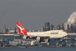 安芸あすかさんが、羽田空港で撮影したカンタス航空 747-438の航空フォト(写真)