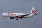 まっくうさんが、クアラルンプール国際空港で撮影したマリンド・エア 737-9GP/ERの航空フォト(写真)
