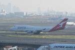 かずまっくすさんが、羽田空港で撮影したカンタス航空 747-438の航空フォト(写真)