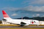菊池 正人さんが、石垣空港で撮影した日本トランスオーシャン航空 737-2Q3/Advの航空フォト(写真)