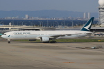 なぁちゃんさんが、関西国際空港で撮影したキャセイパシフィック航空 777-367の航空フォト(写真)