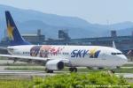 tabi0329さんが、福岡空港で撮影したスカイマーク 737-86Nの航空フォト(写真)