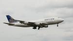 raichanさんが、成田国際空港で撮影したユナイテッド航空 747-422の航空フォト(写真)