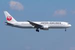 PASSENGERさんが、羽田空港で撮影した日本航空 767-346の航空フォト(写真)