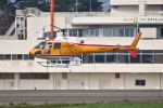 Cスマイルさんが、花巻空港で撮影した東邦航空 AS350B Ecureuilの航空フォト(写真)