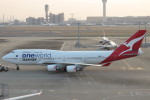 SFJ_capさんが、羽田空港で撮影したカンタス航空 747-438/ERの航空フォト(写真)